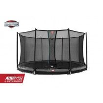 Berg Champion Inground Trampoline 380 cm Comfort Grijs