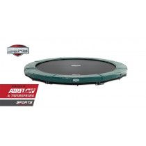 BERG Inground Elite trampoline 430 cm groen
