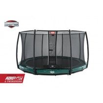 BERG Elite inground trampoline 430cm Deluxe Groen