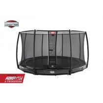 Berg Elite Inground Trampoline 380 cm Deluxe Grijs