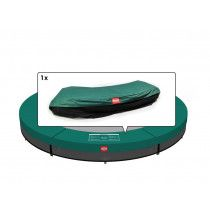 Berg Talent inground trampoline rand 180cm Groen