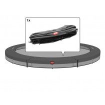 Berg Champion inground trampoline rand 430cm Grijs