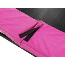 EXIT Silhouette trampoline rand 366cm Roze