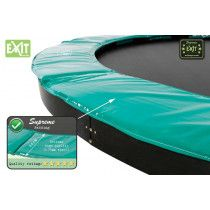 EXIT Supreme Ground Level trampoline rand 214x366 cm