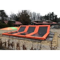 12SPRINGS CURVE-ONE Trampoline One side flat