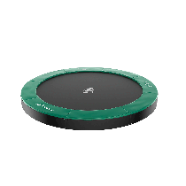 Akrobat Orbit flat to the ground trampoline 244cm Groen