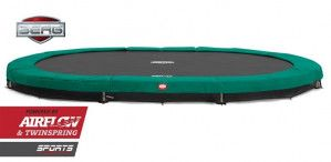 Berg Inground Grand Champion Trampoline 470x310 cm Groen
