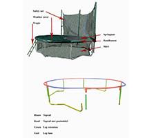 trampoline onderdelen