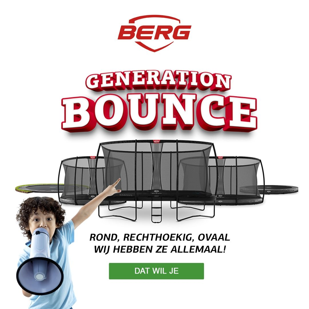 Berg Trampoline generation bounce