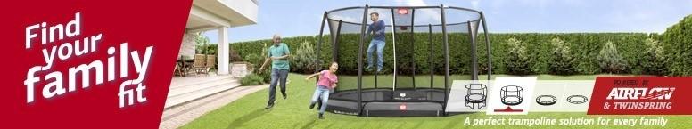 BERG trampolines FindYourFamilyFit