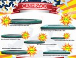 Cashback actie front