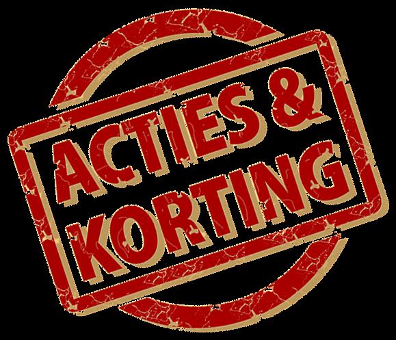 acties en kortingen