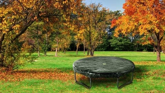 Help uw trampoline de herfst en winter door!
